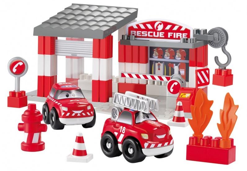 écoiffier Abrick: brandweerkazerne klein