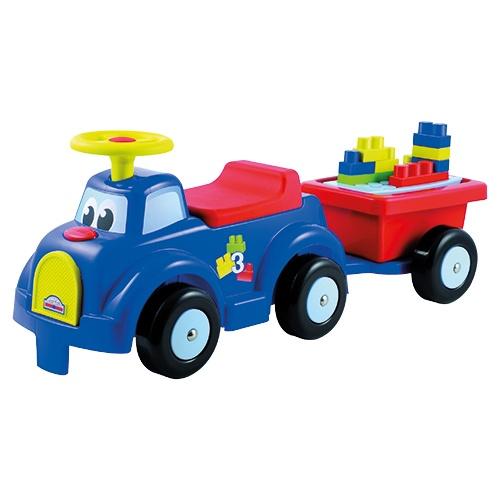 Abrick auto met trailer
