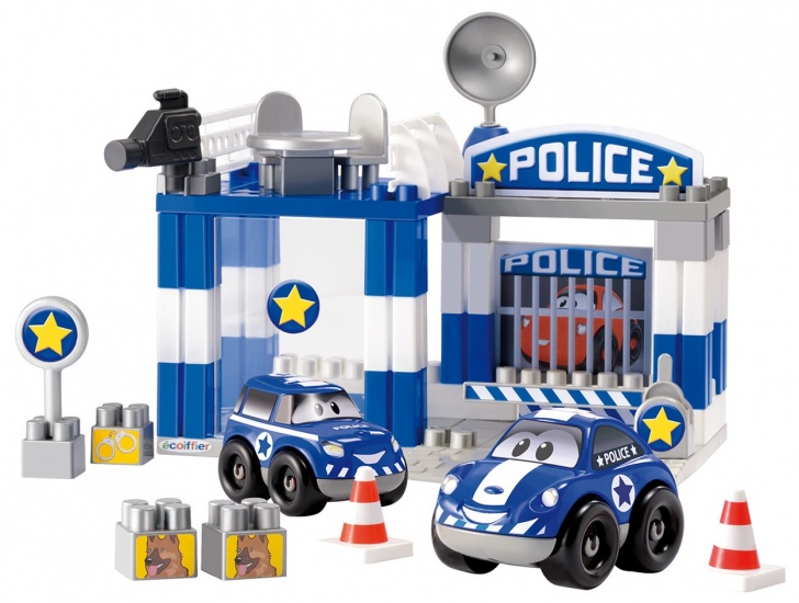 Abrick Politie Speelset