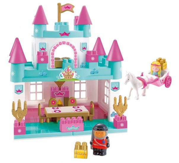 Abrick Prinsessenkasteel met Accessoires