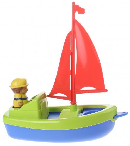 écoiffier boot met figuur groen 22 cm