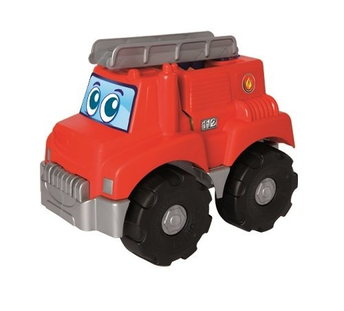 écoiffier brandweerauto Abrick Maxi rood