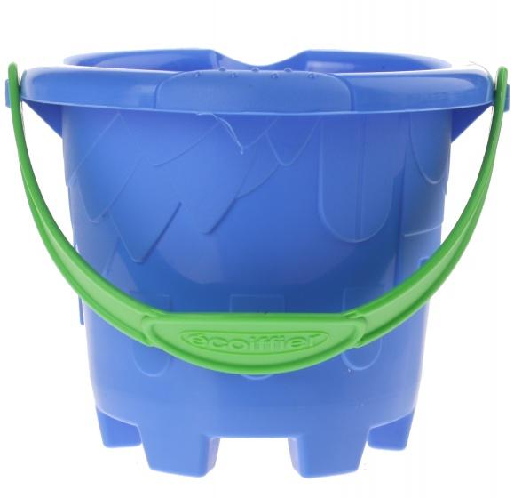 écoiffier emmer zandkasteel blauw 12 x 10 cm