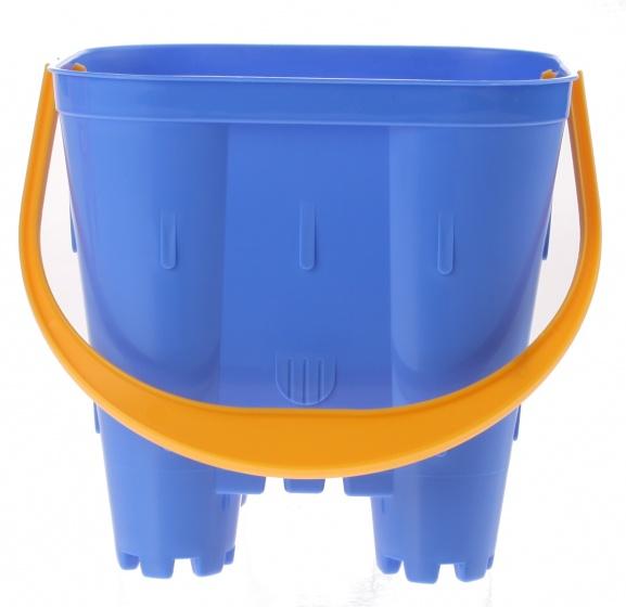 écoiffier emmer zandkasteel blauw 14 x 14 x 15 cm