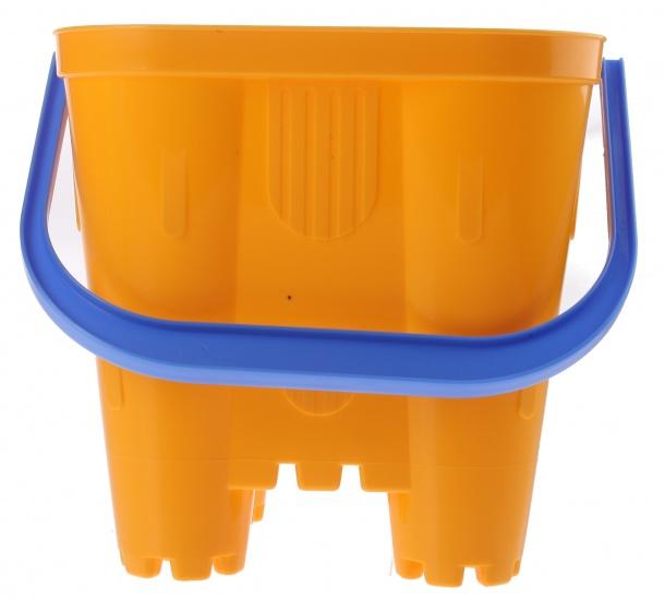 233 Coiffier Sandcastle Bucket Yellow 19 X 19 X 21 Cm