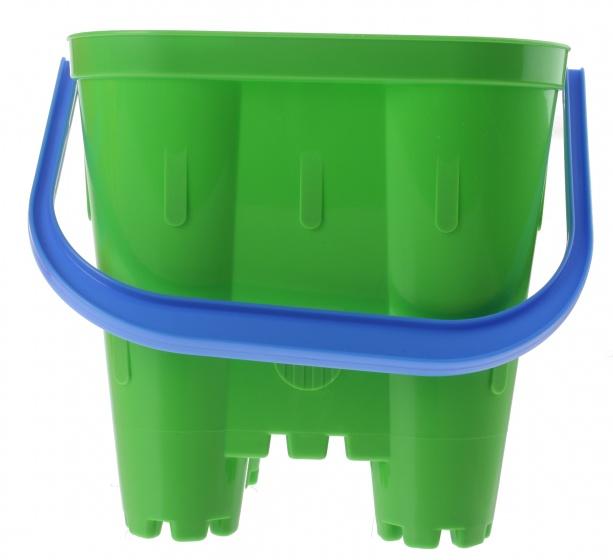 écoiffier emmer zandkasteel groen 19 x 19 x 21 cm