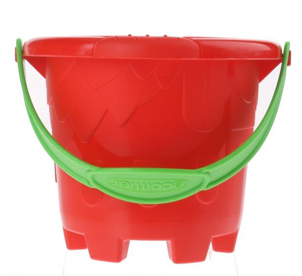 écoiffier emmer zandkasteel rood 12 x 10 cm