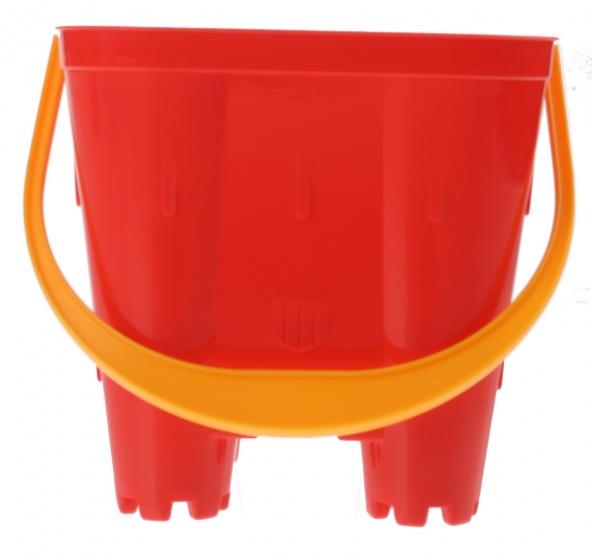 écoiffier emmer zandkasteel rood 15 x 14 x 14 cm