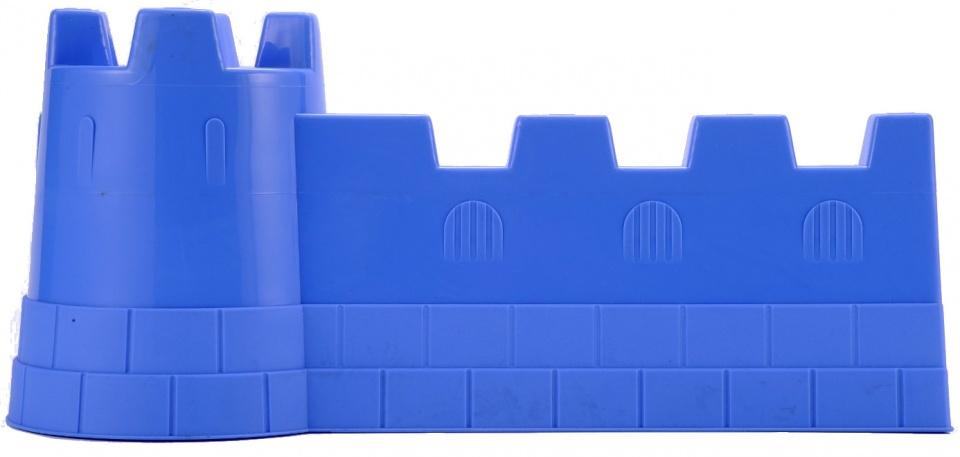 écoiffier kasteelmuur zandspeelgoed blauw 40 x 19 cm