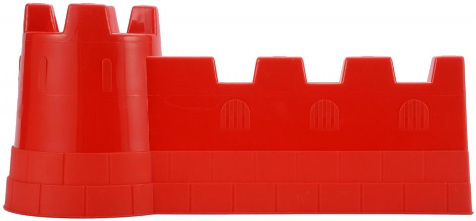 écoiffier kasteelmuur zandspeelgoed rood 40 x 19 cm