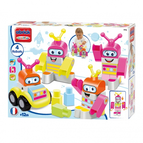Abrick Maxi Robot Set