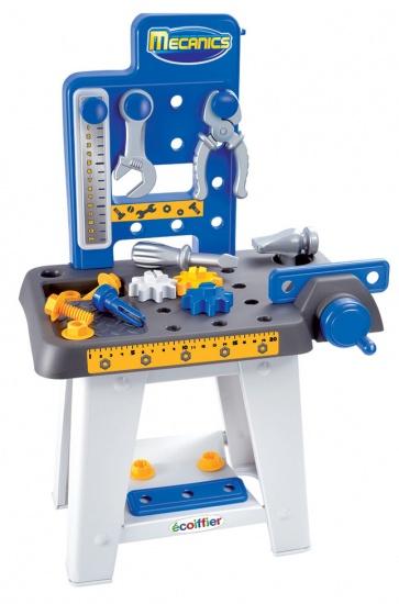 écoiffier Mecanics: werkbank 38 x 25 x 60 cm