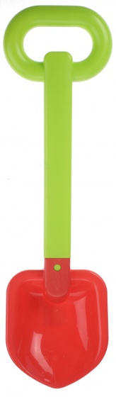 écoiffier schep 50 cm groen