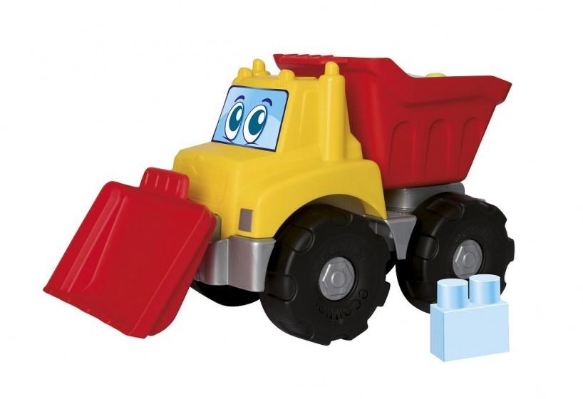 écoiffier vrachtwagen Abrick Maxi 39 cm geel