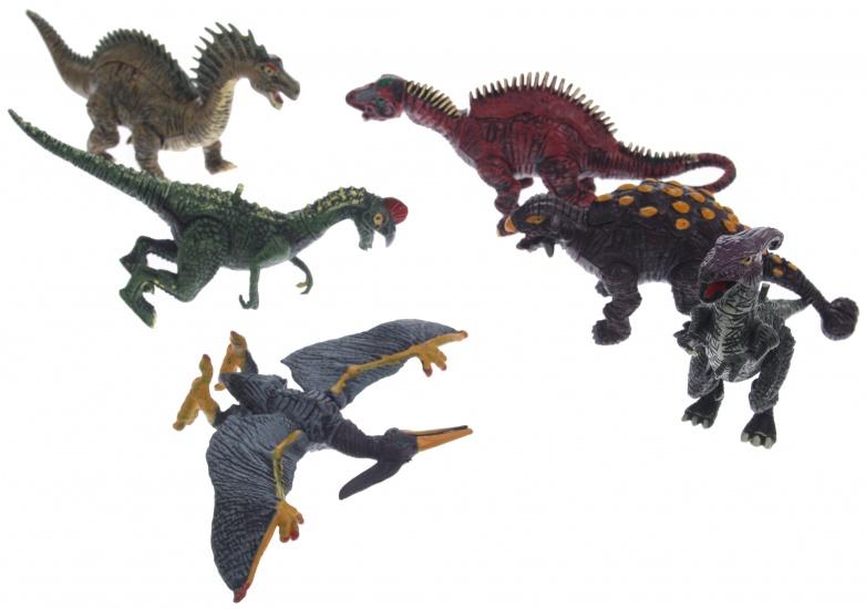 Eddy Toys Dinosaurus set 6 delig 15cm