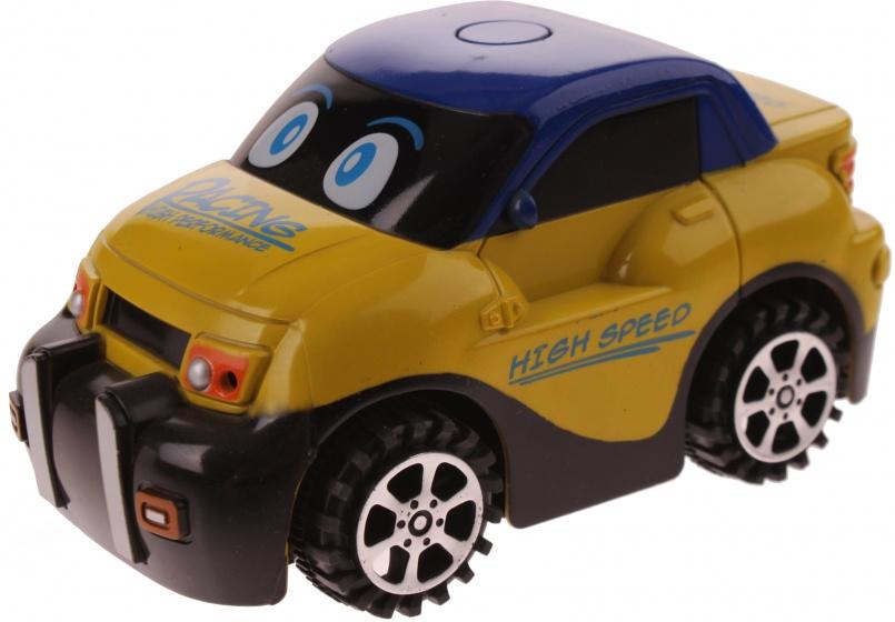 Eddy Toys Auto Funny Geel 13 cm
