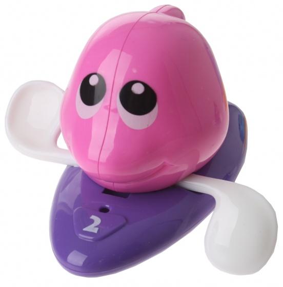Eddy Toys badfiguur opwindbaar paars 13 cm