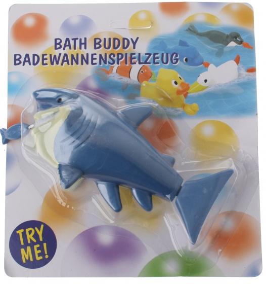 Eddy Toys badspeelgoed zwemmende haai 17 cm