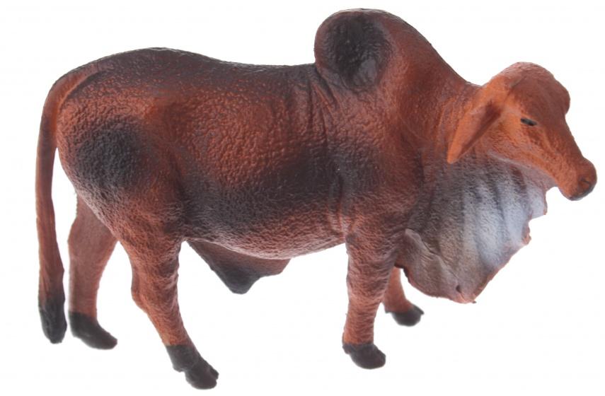 Eddy Toys boerderijdier gnoe 9 cm