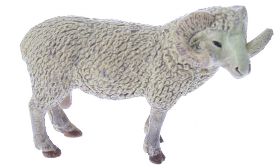 Eddy Toys boerderijdier ram 9 cm