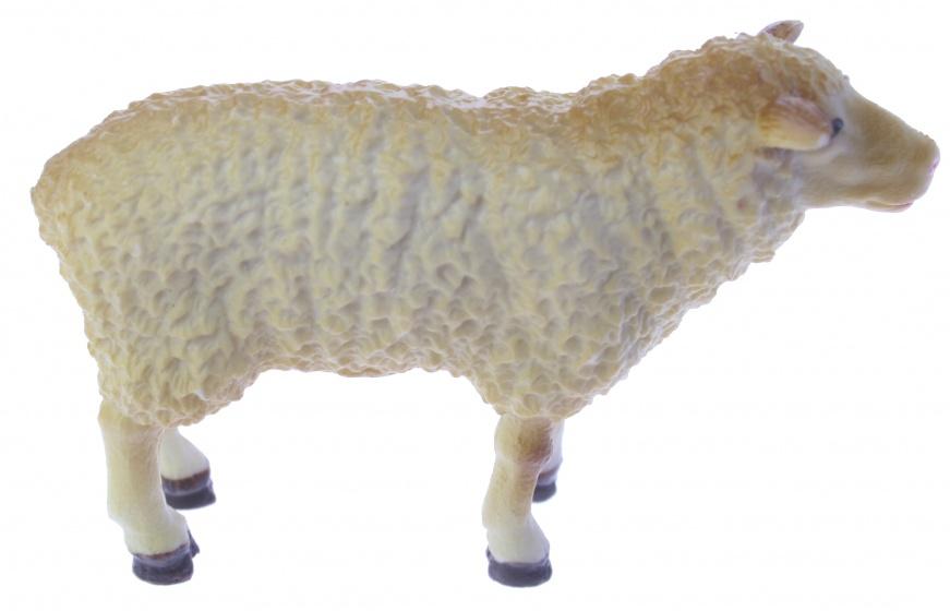 Eddy Toys boerderijdier schaap 9 cm