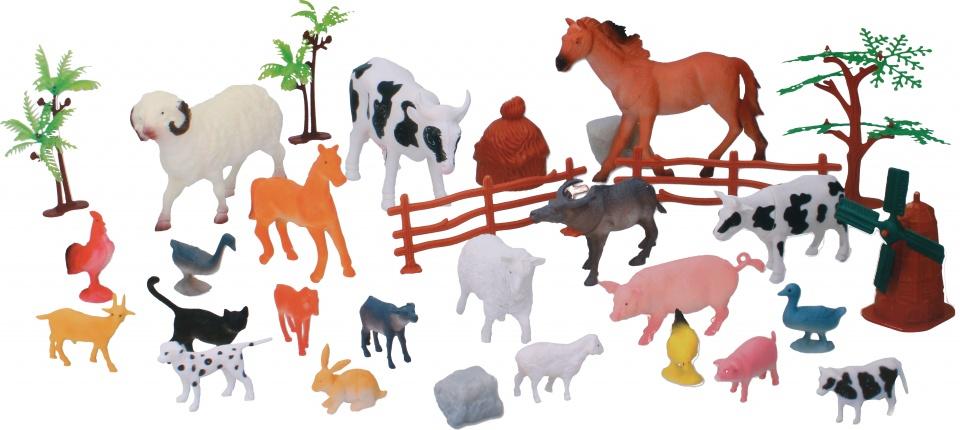 Eddy Toys boerderijdierenset 30 delig