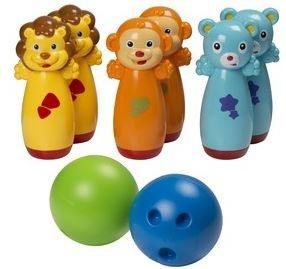 Eddy Toys Bowling set dierenplezier 8 delig
