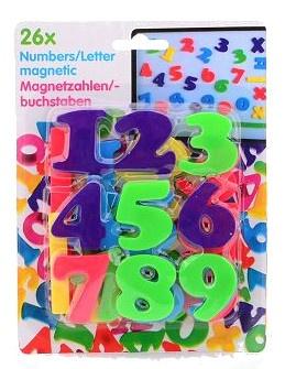 Eddy Toys cijfers magnetisch 26 delig