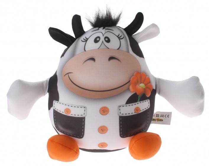 Eddy Toys Dierenvriend knuffel koe 20 cm