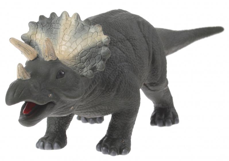 Eddy Toys dinosaurus met geluid bruin 32 cm
