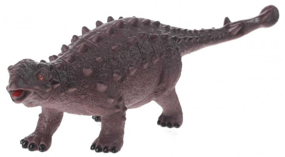 Eddy Toys dinosaurus met geluid grijs 32 cm