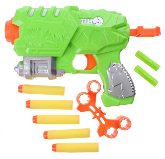 Eddy Toys foam blaster 10 delig 22 cm groen