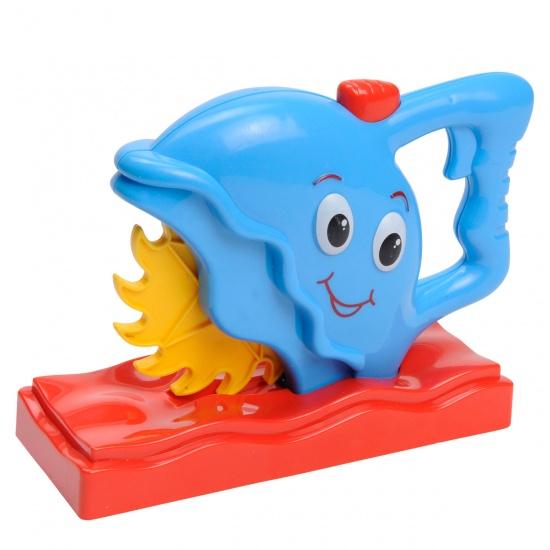 Eddy Toys Gereedschap: Cirkelzaag kunststof blauw
