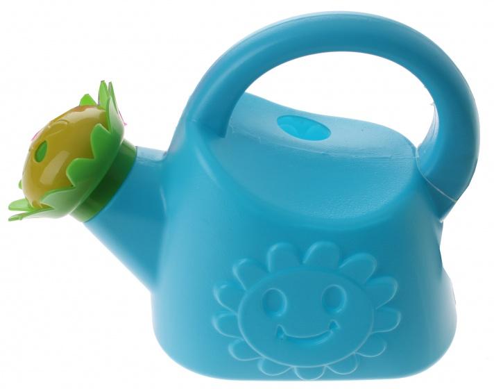 Eddy Toys gieter kunststof blauw 1,2 liter