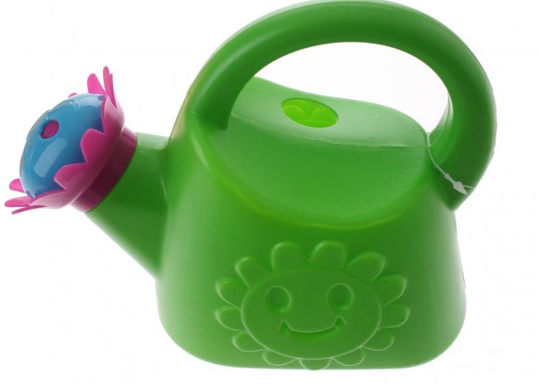 Eddy Toys gieter kunststof groen 1,2 liter