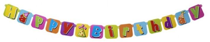 Eddy Toys happy birthday slinger 175 cm