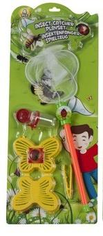 Eddy Toys Insectenvanger Vlinder 4 delig
