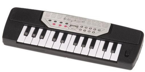 Eddy Toys Keyboard 14 toetsen zwart