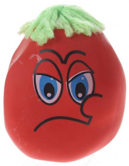 Eddy Toys kneedfiguur smiley rood 6 cm