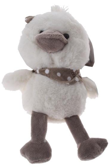 Eddy Toys knuffel kuiken pluche 23 cm