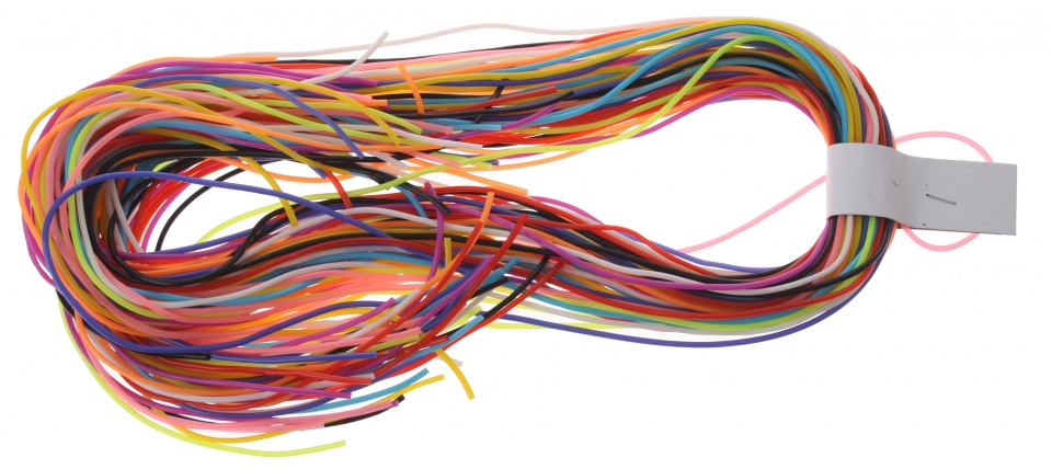 Eddy Toys Knutseltouwtjes 80 cm multicolor 50 stuks