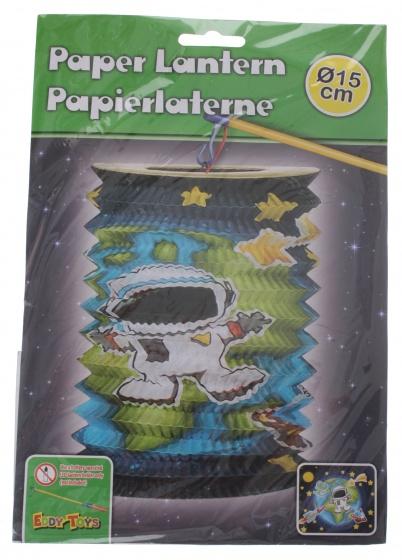 Eddy Toys lampion astronaut papier 15 cm