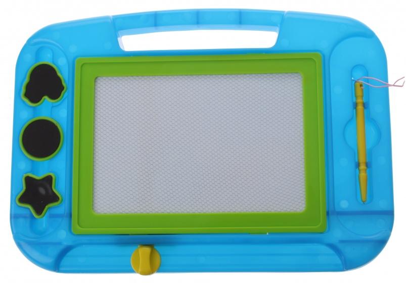 Eddy Toys magnetisch tekenbord blauw 33 x 23 cm