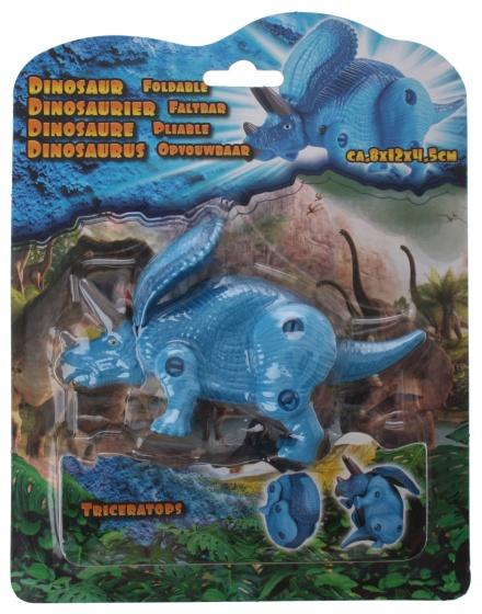 Eddy Toys mini Dino Pteranodon blauw 8 cm