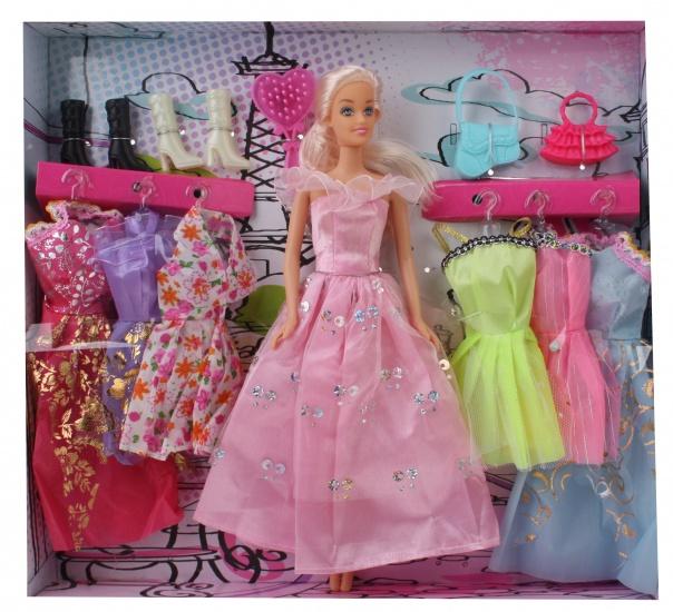 Eddy Toys Mode Pop 14 delig roze