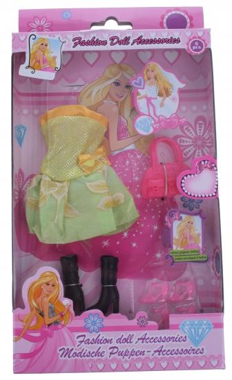 Eddy Toys Modepop accessoires geel