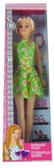 Eddy Toys Modepop Casual Groen 35 cm