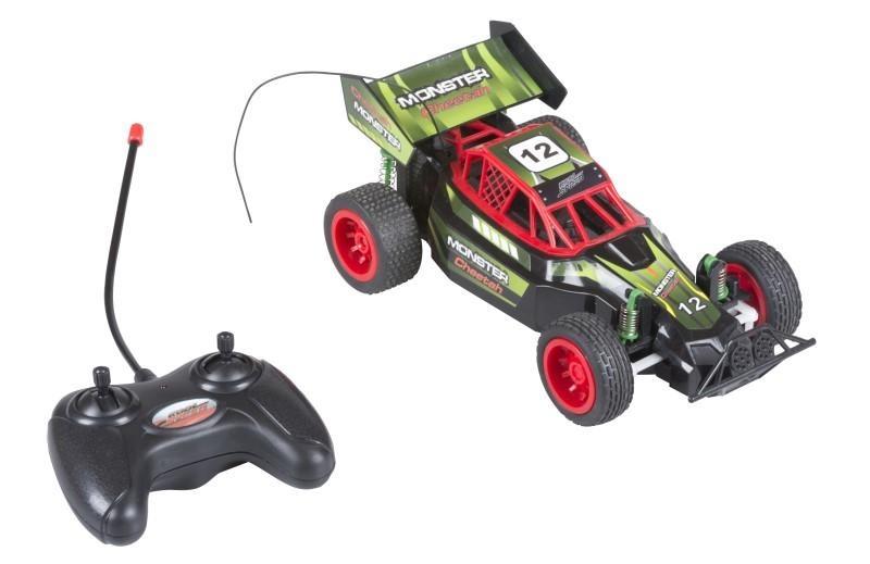 Eddy Toys Monster Racer groen 24 cm