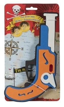 Eddy Toys Piratenpistool Foam 27,5 cm