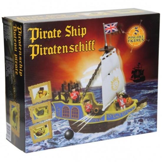 Eddy Toys Piratenschip 14 delig